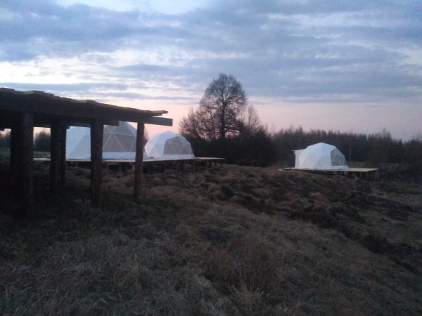вот такие палатки